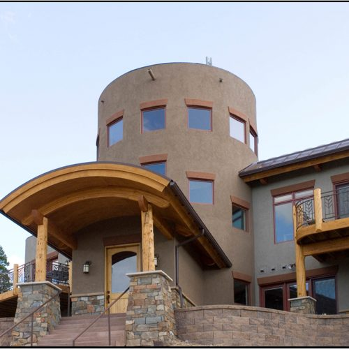 Catherine Krumme Residence - front entry