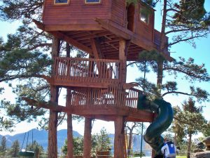 Sherman Treehouse full view