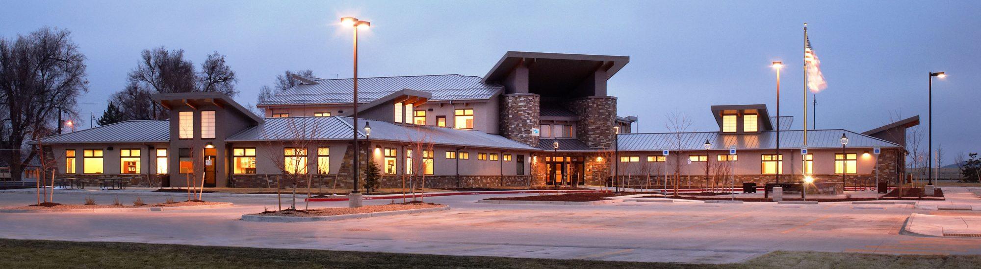 Commerce City Salud Family Health Renewable daylighting exterior