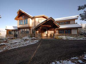 DePrez-Beck Off-Grid Residence Exterior Entry