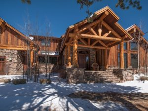 Schultz Custom Luxury Mountain Front Entry