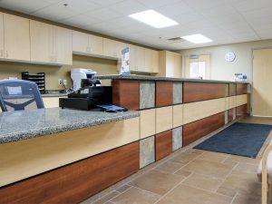Fort Collins Salud desk