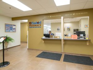 Fort Collins Salud pharmacy counter