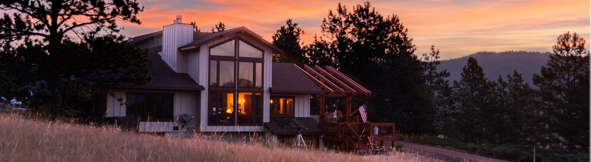 Beck Residence Remodel and Addition - sunset