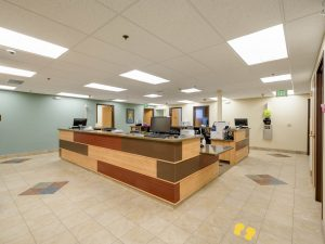 Brighton Salud Women's Clinic Remodel, desk