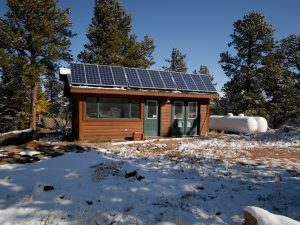 DePrez-Beck Off-Grid Residence Power Shed