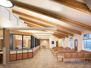 Commerce City Salud Renewable daylighting lobby
