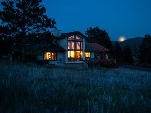 Beck Residence Remodel and Addition - moonlight