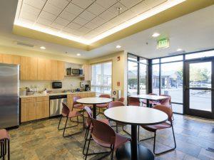 Brighton Salud Women's Clinic Remodel break room