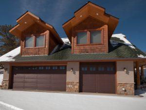 Krumme Garage & Apartment, Mountain Territorial Style