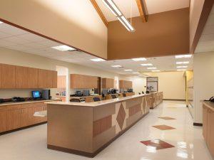 Commerce City Salud Renewable daylighting nurses stations