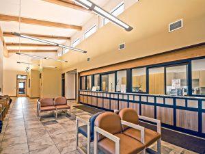 Fort Morgan Salud Medical Center lobby