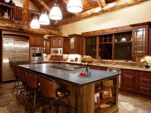 Schultz Custom Luxury Mountain Kitchen