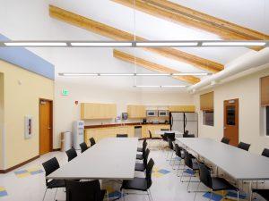 Commerce City Salud Renewable Daylighting break room