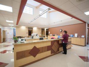 Fort Morgan Salud medical nurses' station