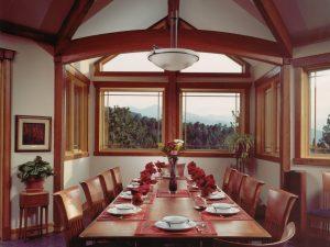 DePrez-Beck Off-Grid Residence Dining Room TW Beck table