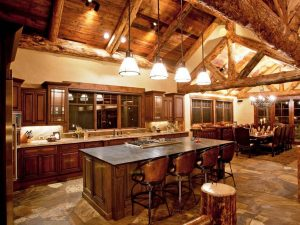Schultz Custom Luxury Mountain Kitchen & Dining