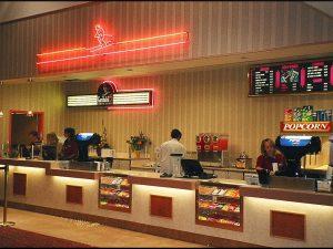 Big Wood 4 Cinema Theater - counter