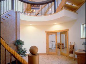 Catherine Krumme Residence - stairway