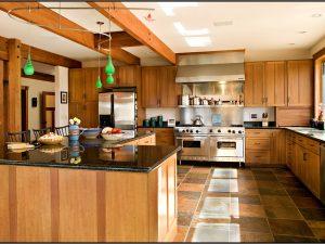 DePrez-Beck Off-Grid Residence kitchen