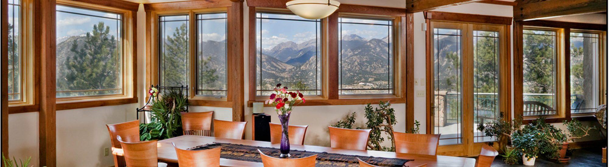 DePrez-Beck Off-Grid Residence dining room