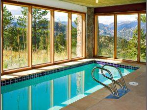 DePrez-Beck Off-Grid Residence - indoor pool