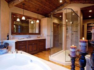 Schultz Custom Luxury Mountain Master Bath