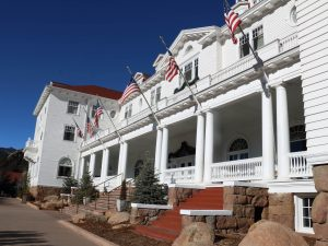 Front Step Remodel at the Stanley Hotel