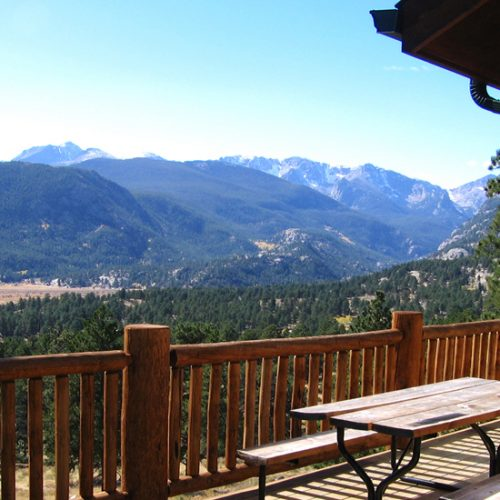 Six Residence Vista of Rocky Mountains